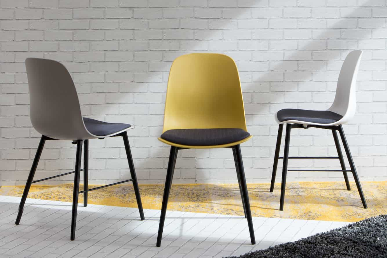 A combination of three dining chair from EZ living furniture