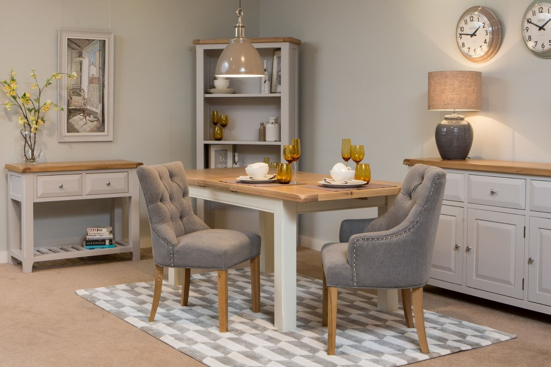 A picture of plush dining chair from EZ Living Furniture
