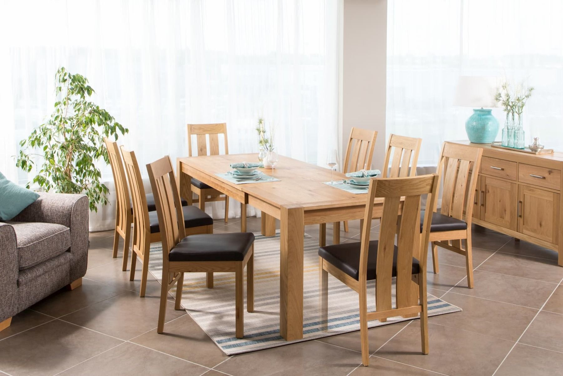 extendable dining table from ez living furniture
