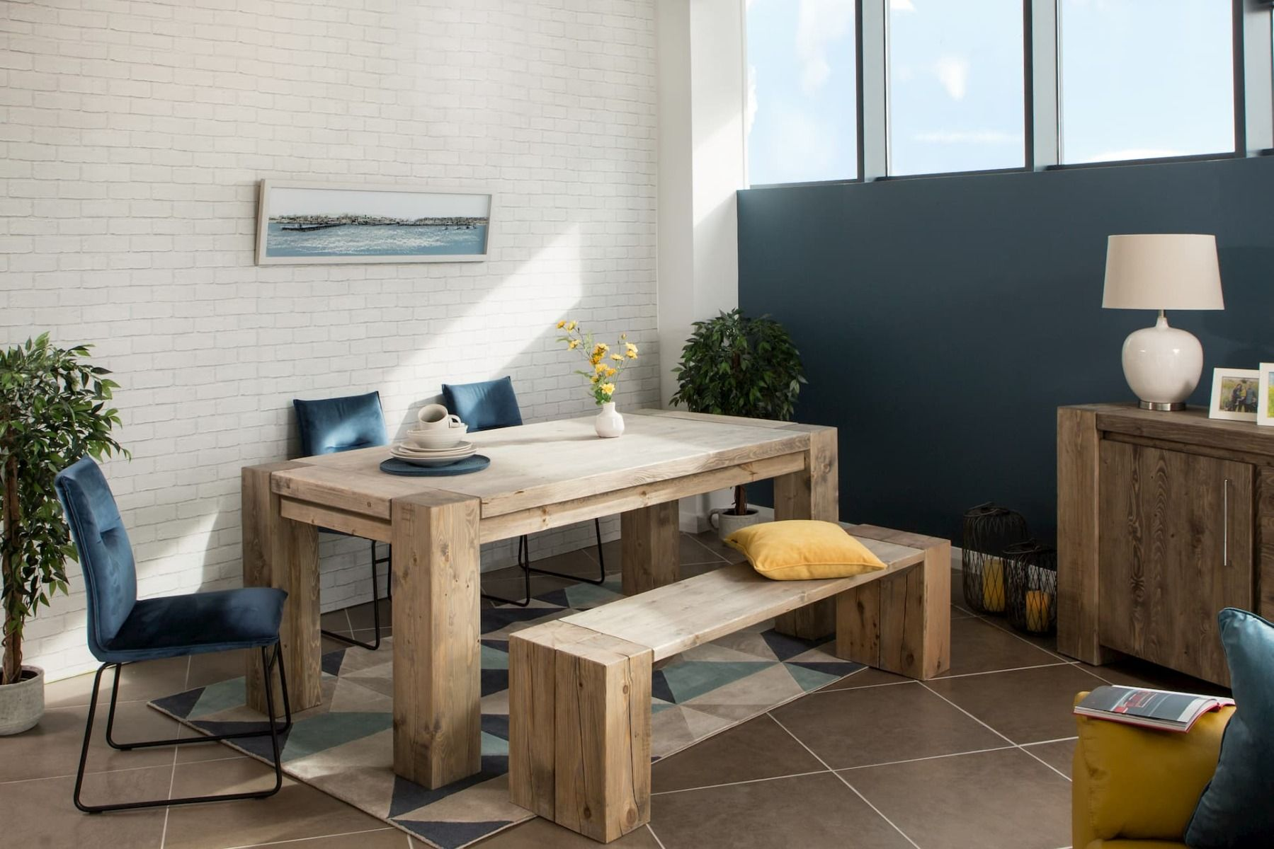 hardy dining table from ez living furniture