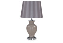 Beige Table Lamp With Deep Pink Shade - Isdore
