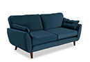 Platinum - Teal 3 Seater