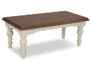 Cream Wooden Coffee Table - Villa Roma