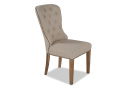 Beige Fabric Dining Chair - Iona